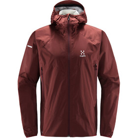 Haglöfs L.I.M Proof Multi Jacket Men, maroon red